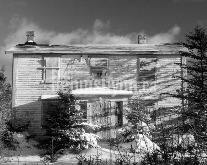 Conception Harbour Old House on Route 60 December 29 2007