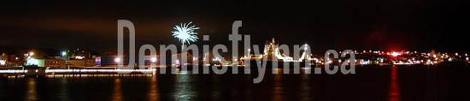 Bay Roberts Klondyke Fireworks New Years Eve December 31 2008
