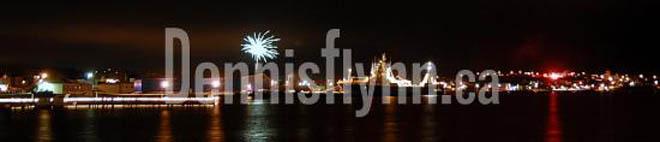 Bay Roberts Klondyke Fireworks New Years Eve December 31 2008