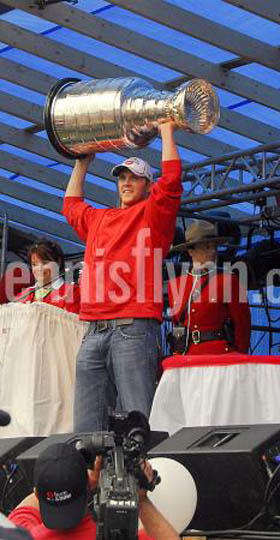 Harbour Grace Danny Cleary Stanley Cup July 01 2008